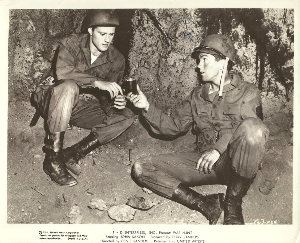 (Courtesy United Artists) Robert Redford (left) and Tom Skerritt play U.S. soldiers fighting in Korea, in the 1962 drama