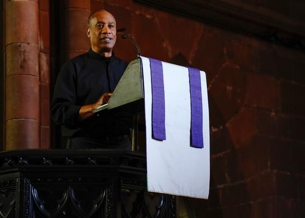 (Photo: Jonathan Wenk/CBS) Joe Morton as the Rev. Arthur Finer in