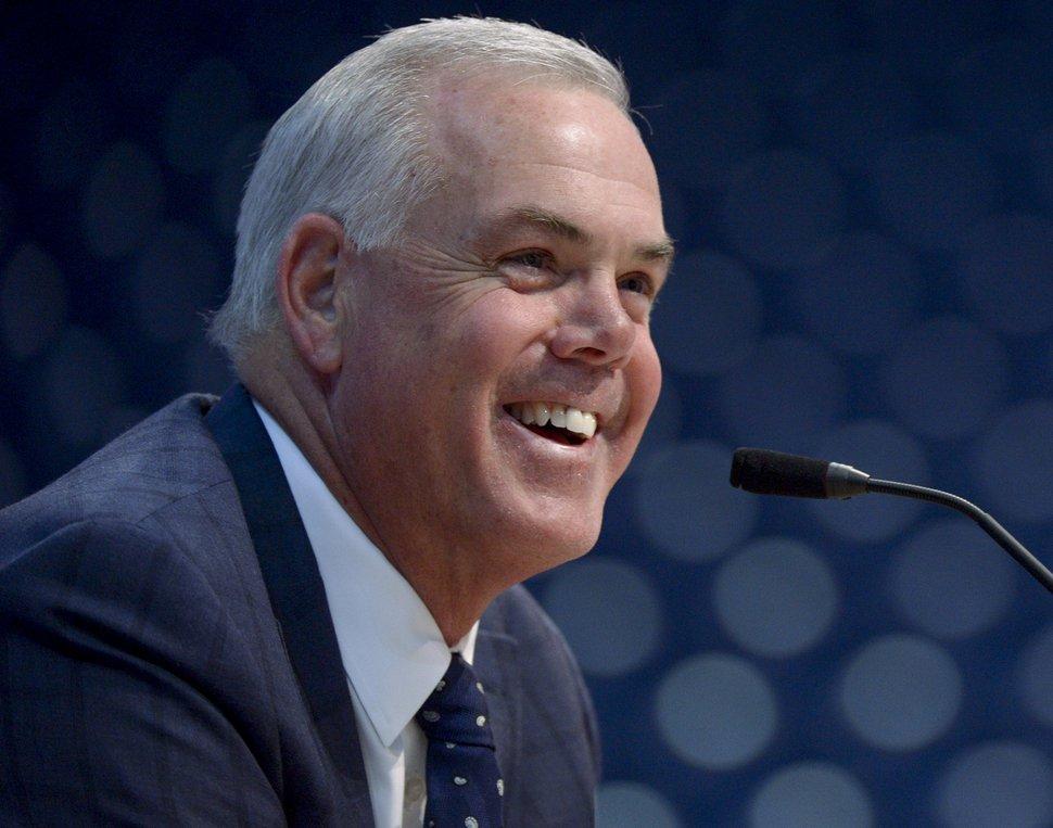 (Leah Hogsten | The Salt Lake Tribune) Former BYU men's basketball coach Dave Rose.