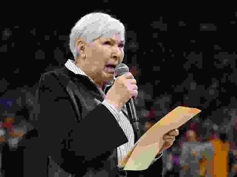 'We are not a racist community': Jazz owner Gail Miller tells crowd she's 'extremely disappointed' in fan's actions toward Russell Westbrook
