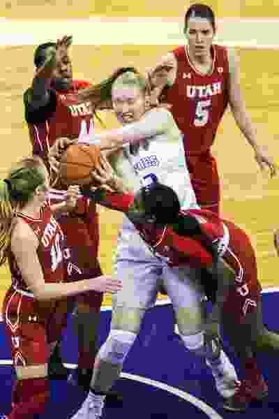 Defense fuels Utah women in 58-43 victory over Washington
