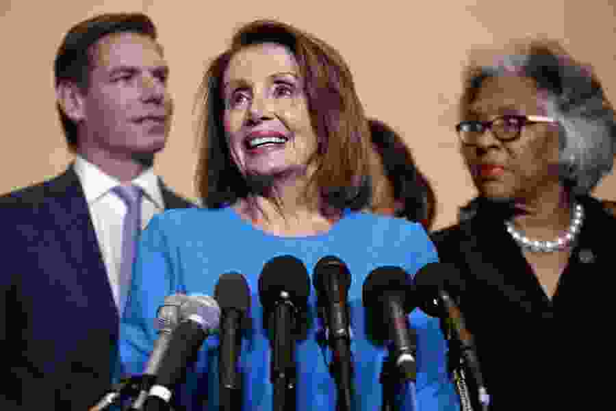 Democrats nominate Pelosi for speaker, a show of strength to be tested in the next Congress