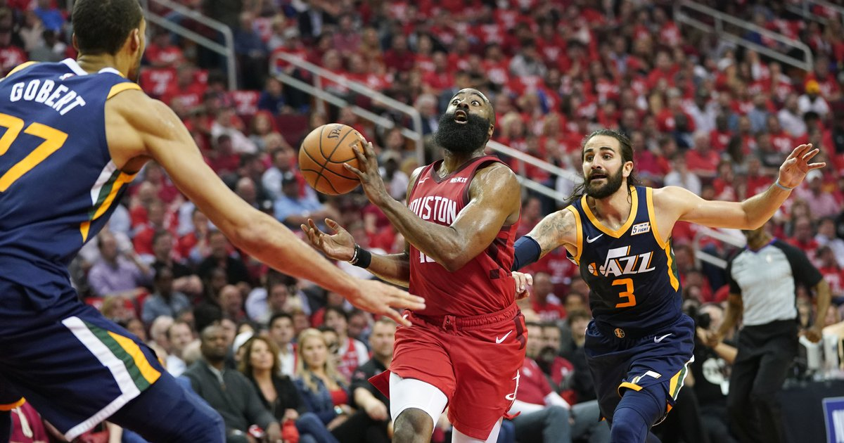 James Harden was unstoppable against the Jazz in Game 1 ...