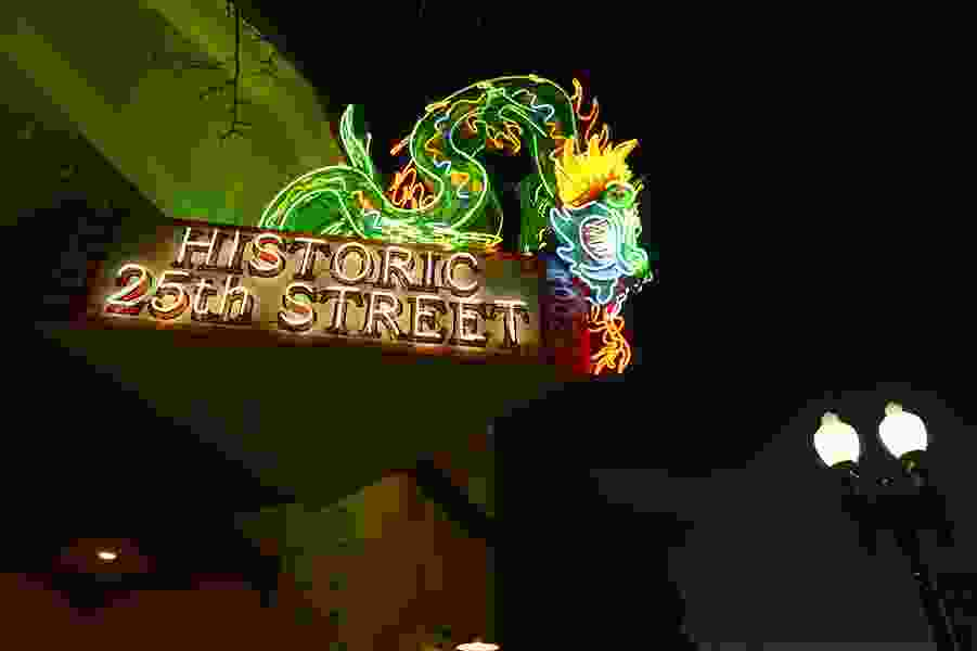 Whatever happened to ... the Star Noodle neon dragon?