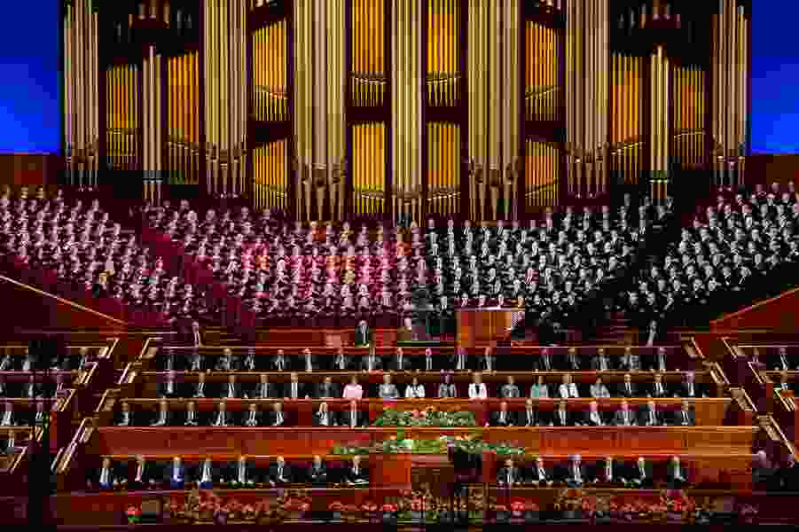 This week in Mormon Land: Gay member of Tab Choir discusses his gift; former missionary on track for Olympics; apostle says follow doctor's orders.