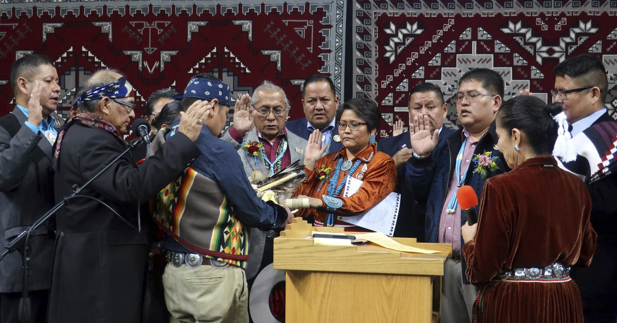 S And B Filters >> New leader of Navajo Nation delivers message of hope ...