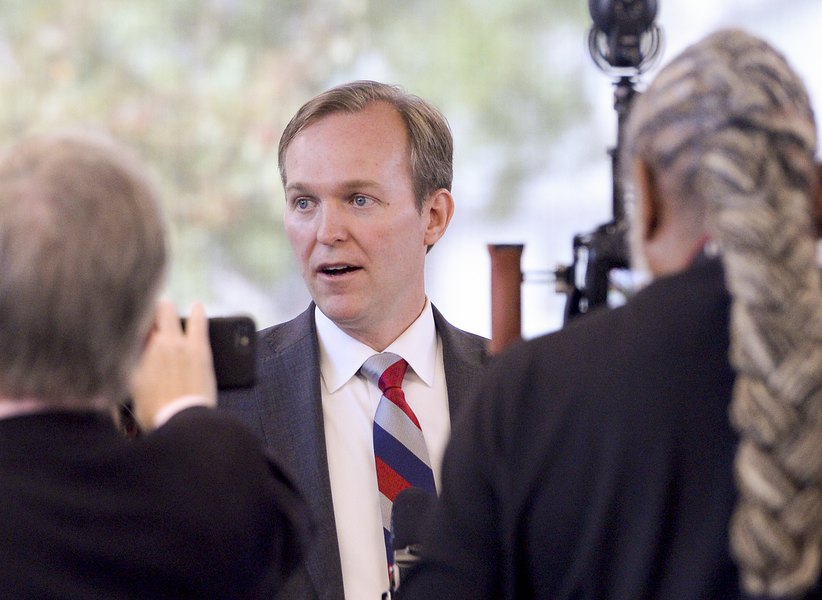 Rep. Ben McAdams says Trump's actions 'demand attention,' but doesn't say whether he supports impeachment inquiry