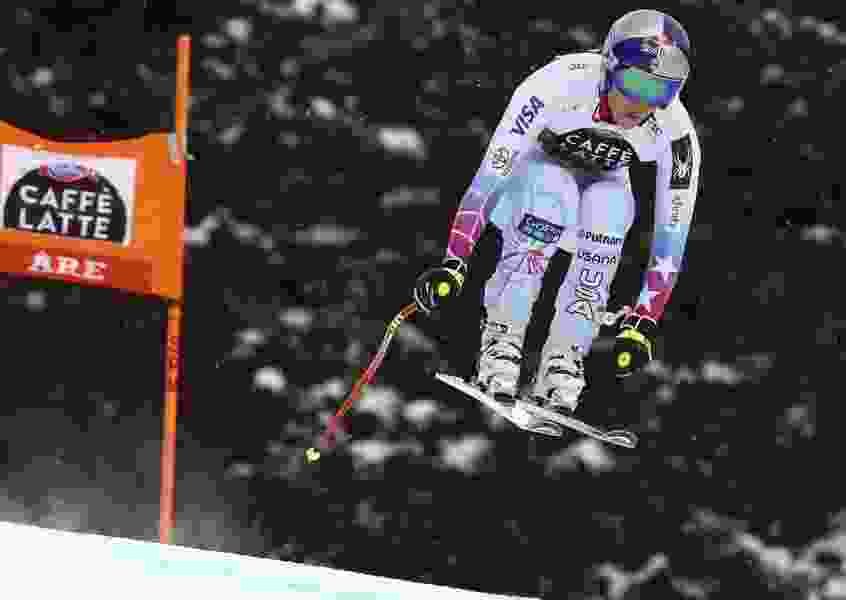 Italy's Goggia pips Vonn for downhill title, Feuz wins men's
