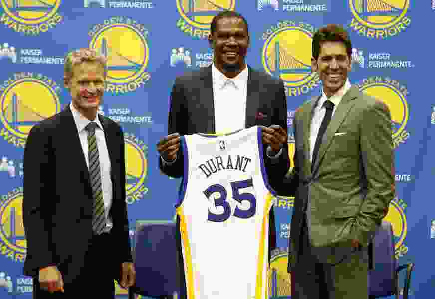 Warriors GM Bob Myers will give Durant new deal he wants