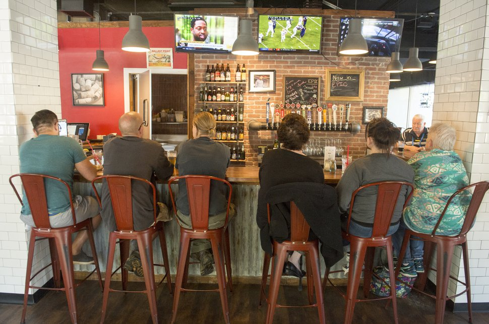 (Rick Egan | The Salt Lake Tribune) Fat Jack's Burger Emporium & Tap House.