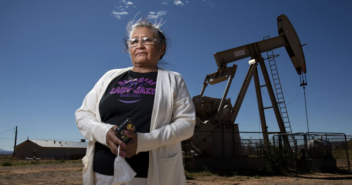 sltrib.com - Zak Podmore - Utah oil field leaves a mixed legacy for members of the Navajo Nation