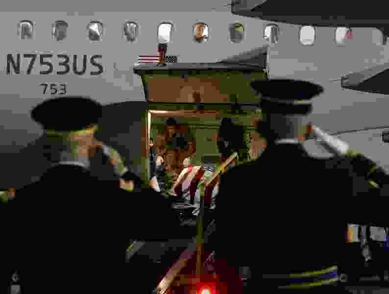 Body of Utah WWII airman Max W. Lower returns home