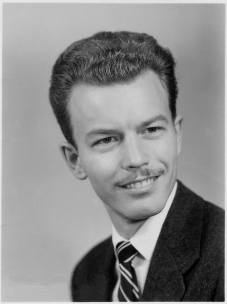 (Tribune file photo) Fred Adams in 1959, the year he was lured away from a dancing gig on Broadway to start a theater program at what is now Cedar City's Southern Utah University. Adams, who grew up in small towns in Idaho and Utah, founded the Utah Shakespearean Festival in 1961.