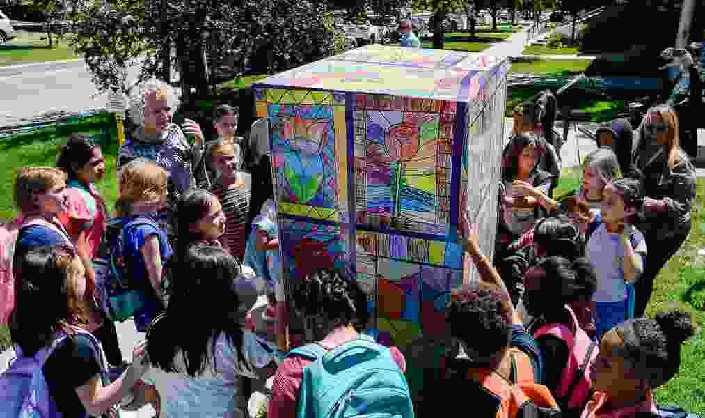 Children's art now wraps utility boxes near every Salt Lake City elementary school