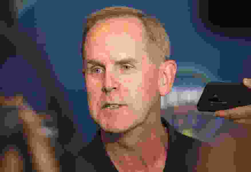 BYU's Tom Holmoe is trying to salvage the football season