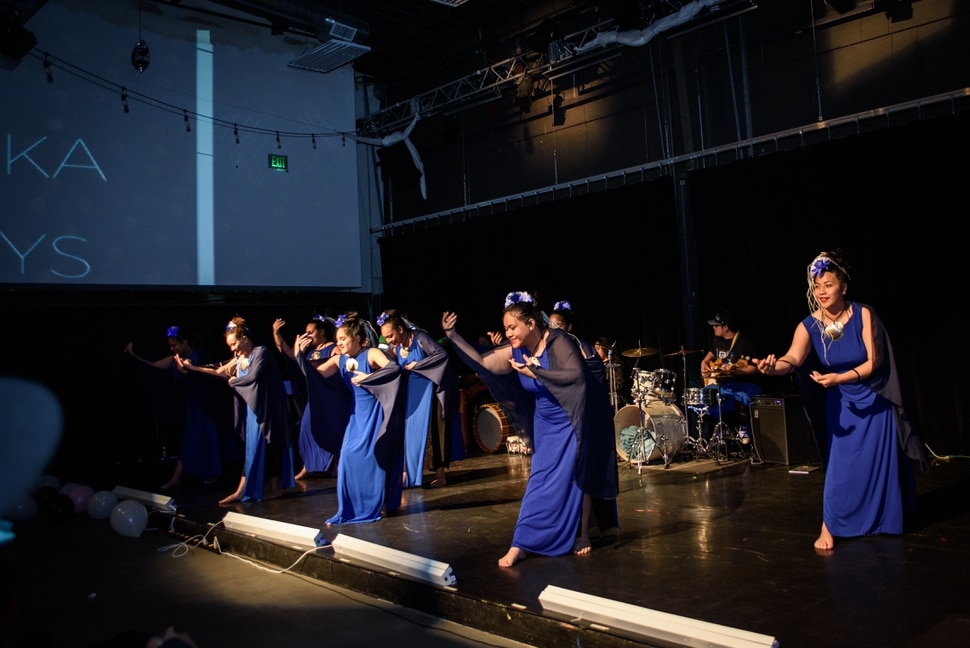 (Photo courtesy of Rosa Villoslada) Utah dance group Malielole performing in April 2018 at a Pasifika First Fridays event with the theme Dance in Diaspora, at Sugar Space in Salt Lake City.