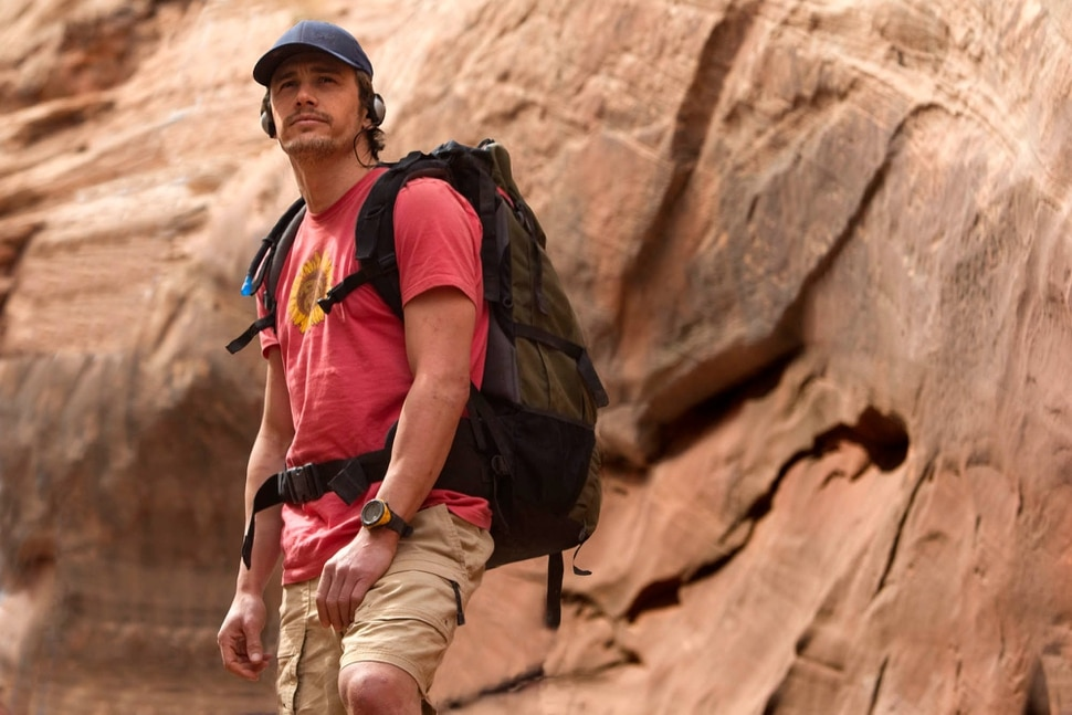 (Photo courtesy of Fox Searchlight Pictures) James Franco plays Aron Ralston, an adventurer who survived an ordeal in a Utah slot canyon, depicted in the movie 127 Hours.