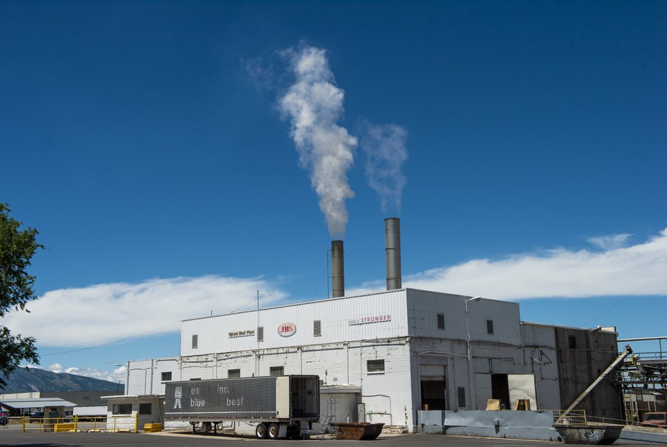(Rick Egan | Tribune file photo) The JBS Beef Plant in Hyrum, Thursday, June 18, 2020.