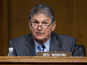 (Jim Watson/Pool via AP)  Sen. Joe Manchin, D-West Virginia