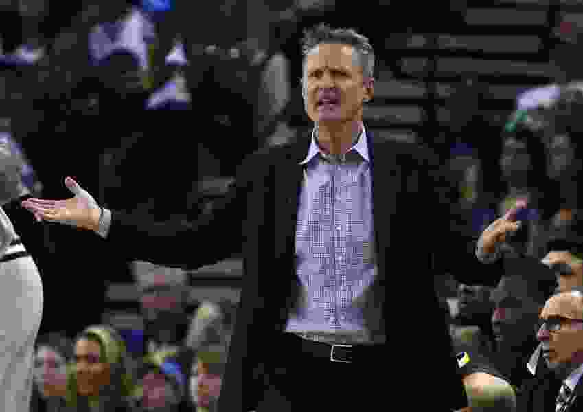 Steve Kerr didn't disrespect Suns by letting his players coach. He was waking up the Warriors.