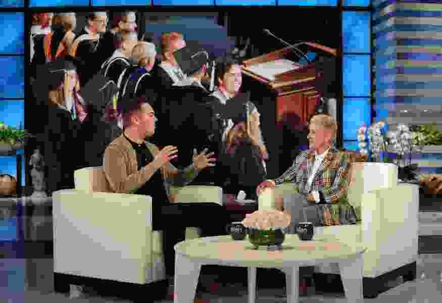 Gay BYU graduate tells Ellen DeGeneres he feared the school's Honor Code
