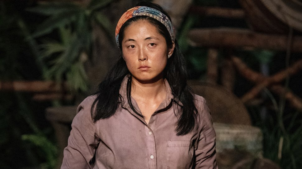 """(Photo courtesy of Robert Voets/CBS) Kellee Kim was voted off """"Survivor"""" after she brought up being inappropriately touched by fellow contestant Dan Spilo."""