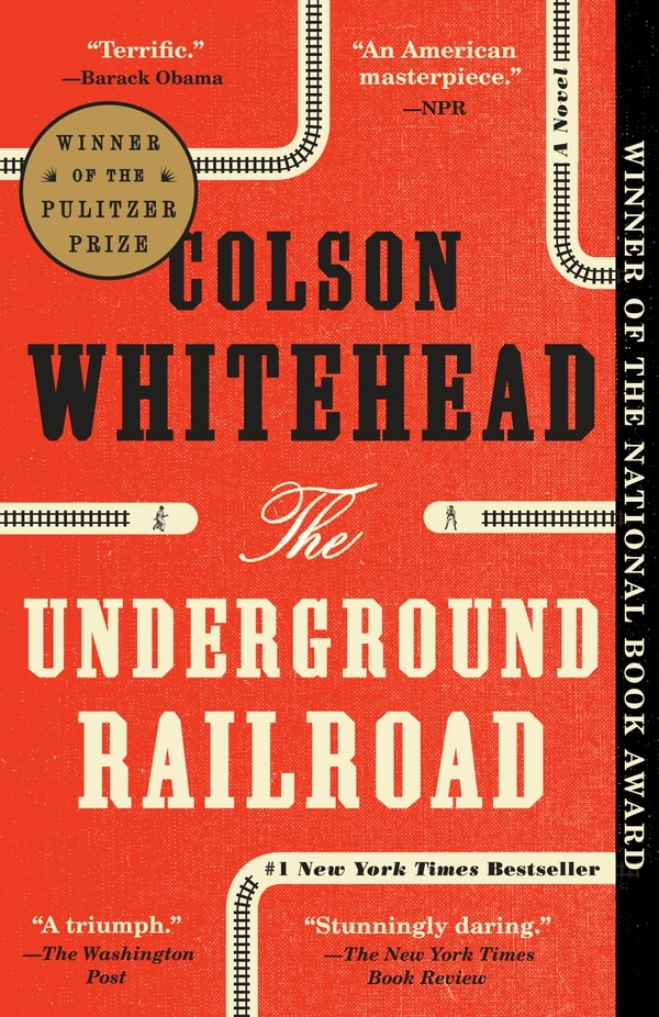 The book cover of Colson Whitehead's novel
