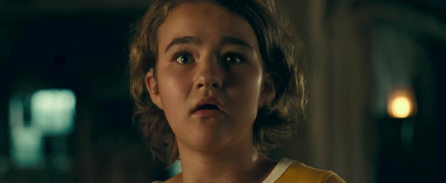 Here's a first look at 'A Quiet Place,' a horror thriller starring Utah teen Millicent Simmonds