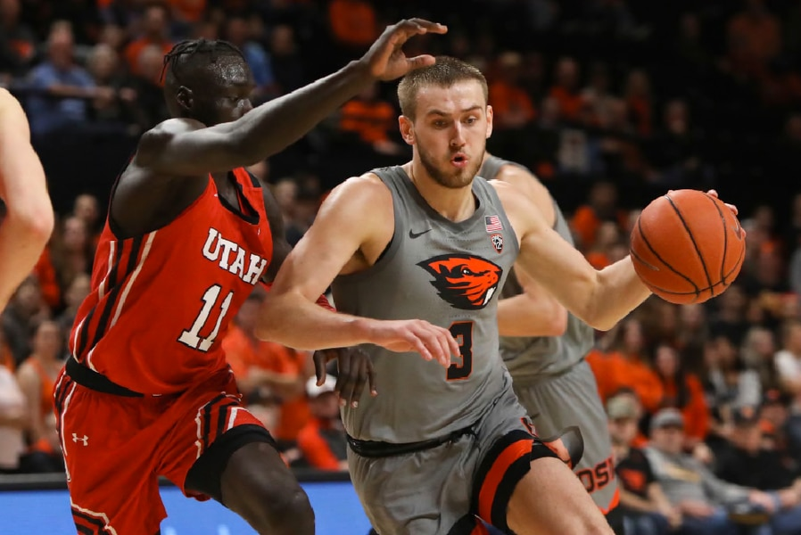 Utah's Pac-12 road woes continue with 70-51 loss at Oregon State