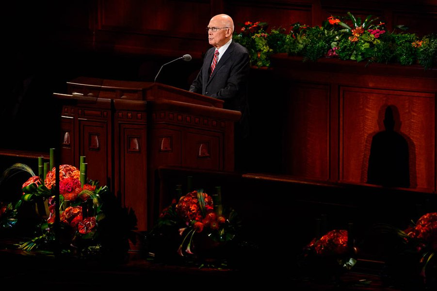 The LDS conference sermon you read online may not match the