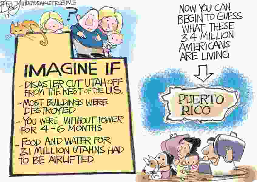 Bagley Cartoon: We Are All Puerto Ricans