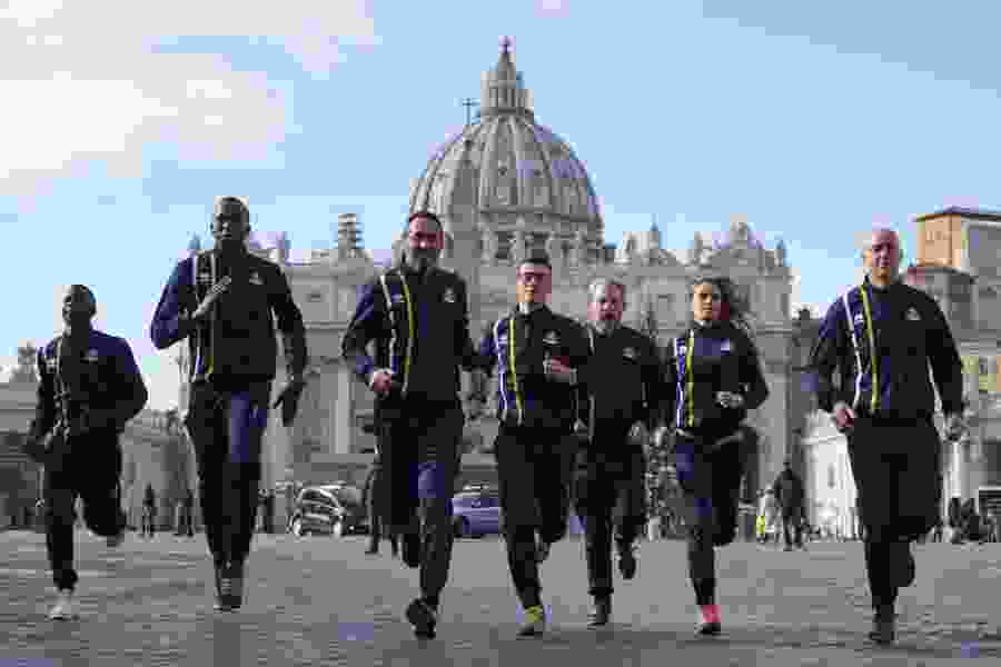 Vatican launches an official track team with Olympic dreams