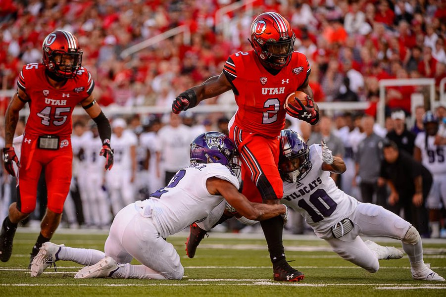 Red All Over: ESPN quantifies Utah running back Zack Moss' value, and it's high