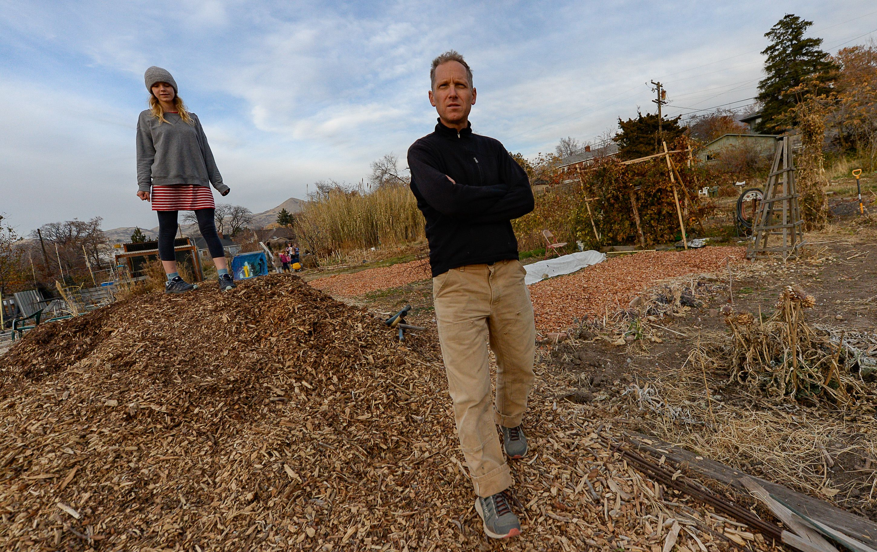 LDS leaders want to turn community garden into parking lot. Neighbors are fighting back.