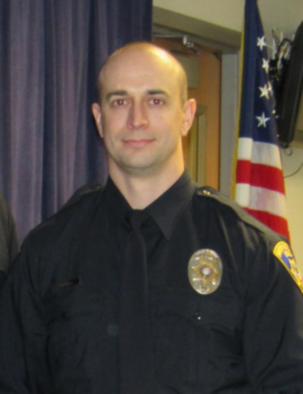 (Photo courtesy of South Salt Lake Police Department) Officer David Romrell