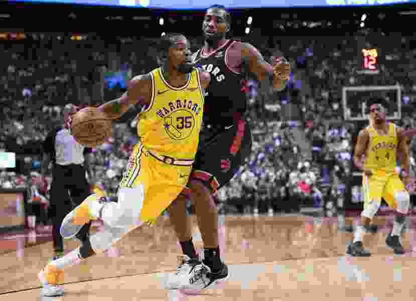 It'll be compelling, but Raptors' Kawhi Leonard won't have enough help to deter Warriors from another NBA title