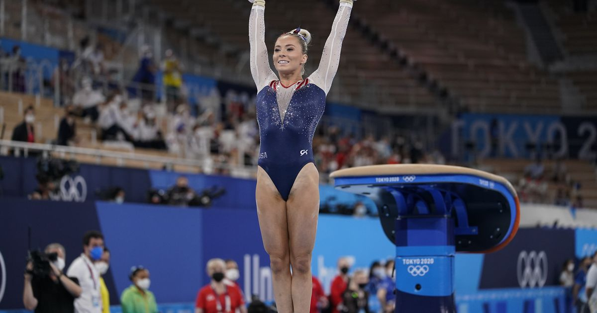 USA gymnast MyKayla Skinner vaults her way to a silver medal