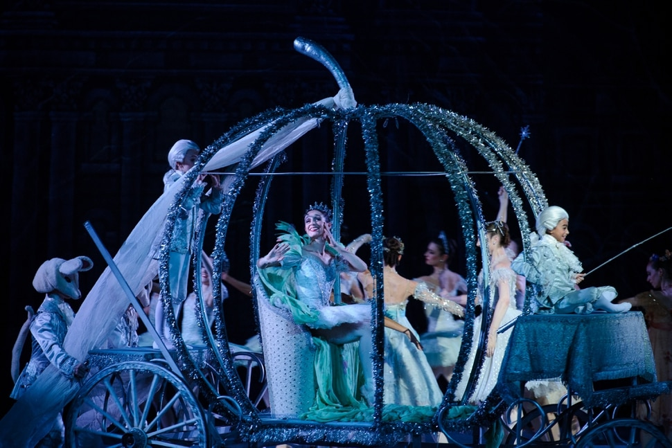 Alex Gallivan   Special to the Tribune Ballet West hosts the final dress rehearsal for Cinderella Thursday February, 8 2018