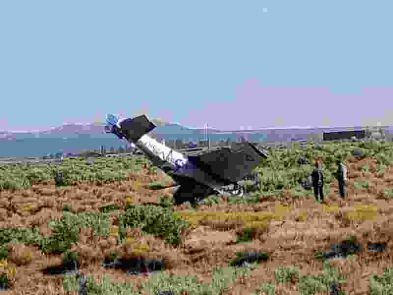Two men dead after small plane crashes in Cedar City