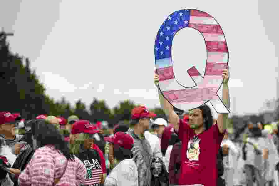 Katelyn Beaty: QAnon is the alternative religion that's coming to your church