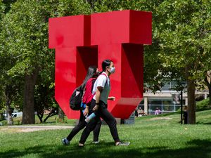 (Francisco Kjolseth  |  The Salt Lake Tribune) University of Utah faculty members are making a push to distance the school from oil and gas companies. On Monday, the Academic Senate voted 69 to 22 to approve the Ad Hoc Committee's recommendations for putting endowment funds towards environmentally sustainable investments, according to information from the university.