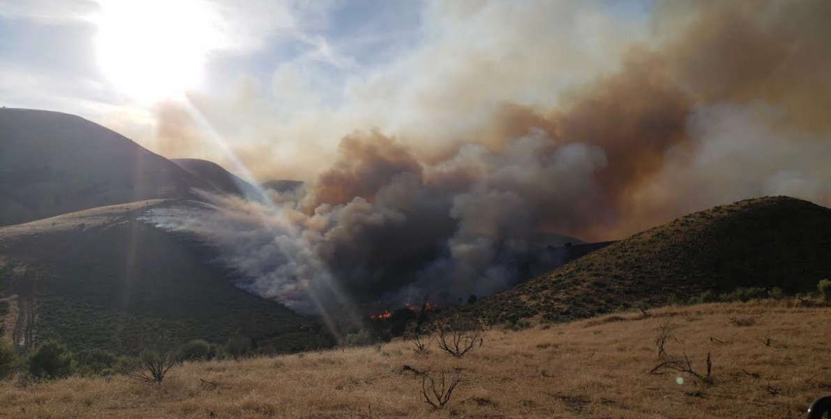 Firefighters gain on blaze burning on polygamous group's ranch; fires grow in southern Utah