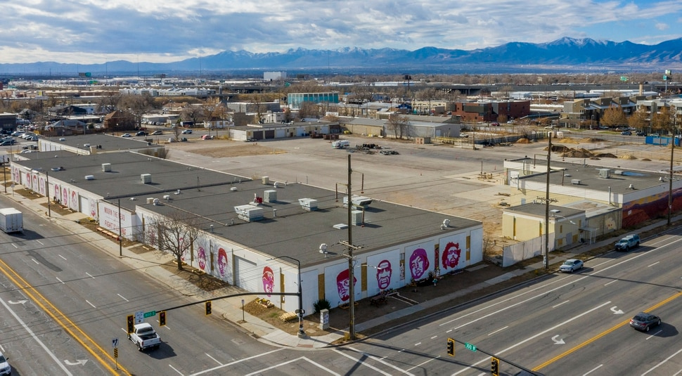 (Rick Egan | The Salt Lake Tribune) The murals on the Fleet Block, along 300 West and 800 South in Salt Lake City, Thursday, Nov. 19, 2020.