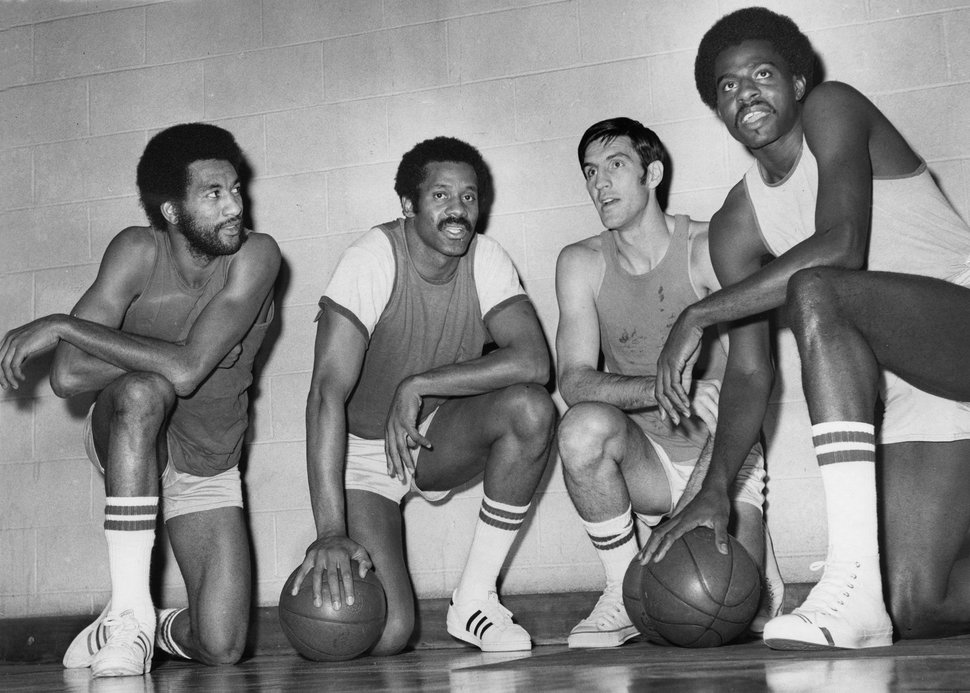 (Ed Feeney | Chicago Tribune Photo) The Bulls had their first winning seasons starting in 1970, when they posted four consecutive seasons with 50 or more wins. On those teams were Norman Van Lier, left, team captain Chet Walker, the original Bull, Jerry Sloan, and Bob Love, Nov. 1, 1973.