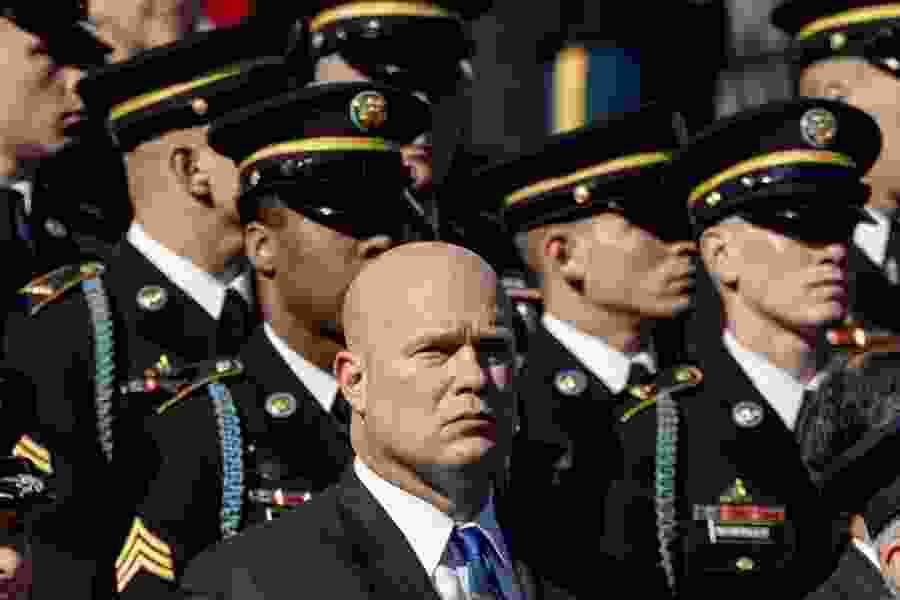 Dana Milbank: Matthew Whitaker is steeped in time travel and Bigfoot. He's the right man for the job.