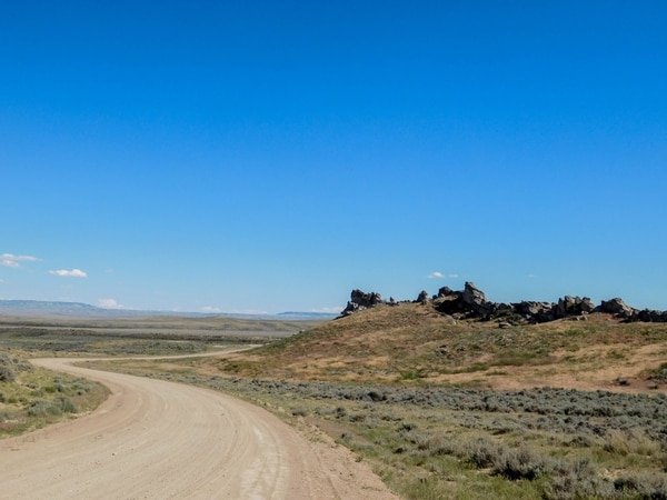 Erin Alberty | The Salt Lake Tribune Scenes from the Oregon Trail: Avenue of Rocks, Natrona County, Wyo.