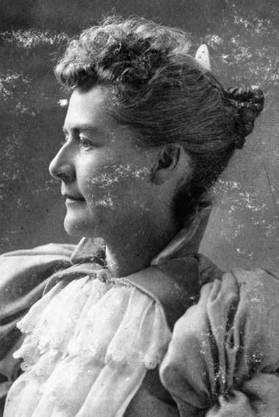 Martha Hughes Cannon was the first woman elected to the Utah State Senate, She served from 1897-1900.