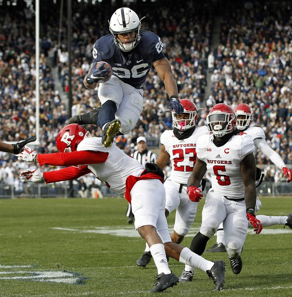 Penn State s Saquon Barkley is a do-it-all running back - The Salt ... 75df2dc37