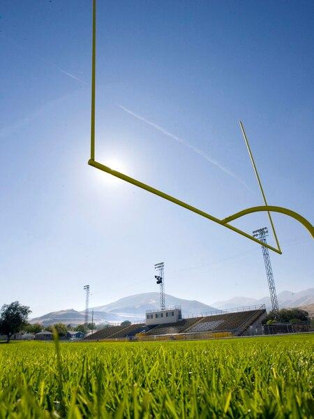 (Steve Griffin | The Salt Lake Tribune) The Cyprus High School football filed Wednesday, October 13, 2010.