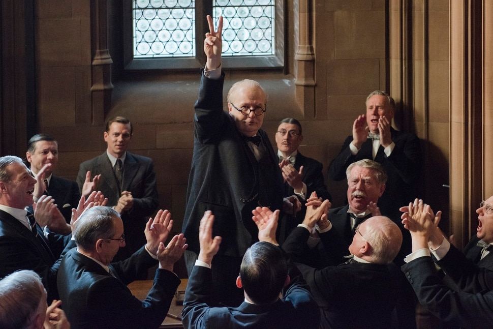 (Jack English | Focus Features) Gary Oldman plays Winston Churchill, in the biographical drama Darkest Hour, directed by Joe Wright.